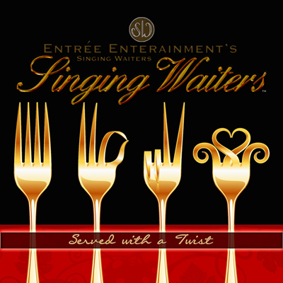 The Singing Waiters – Served with a Twist