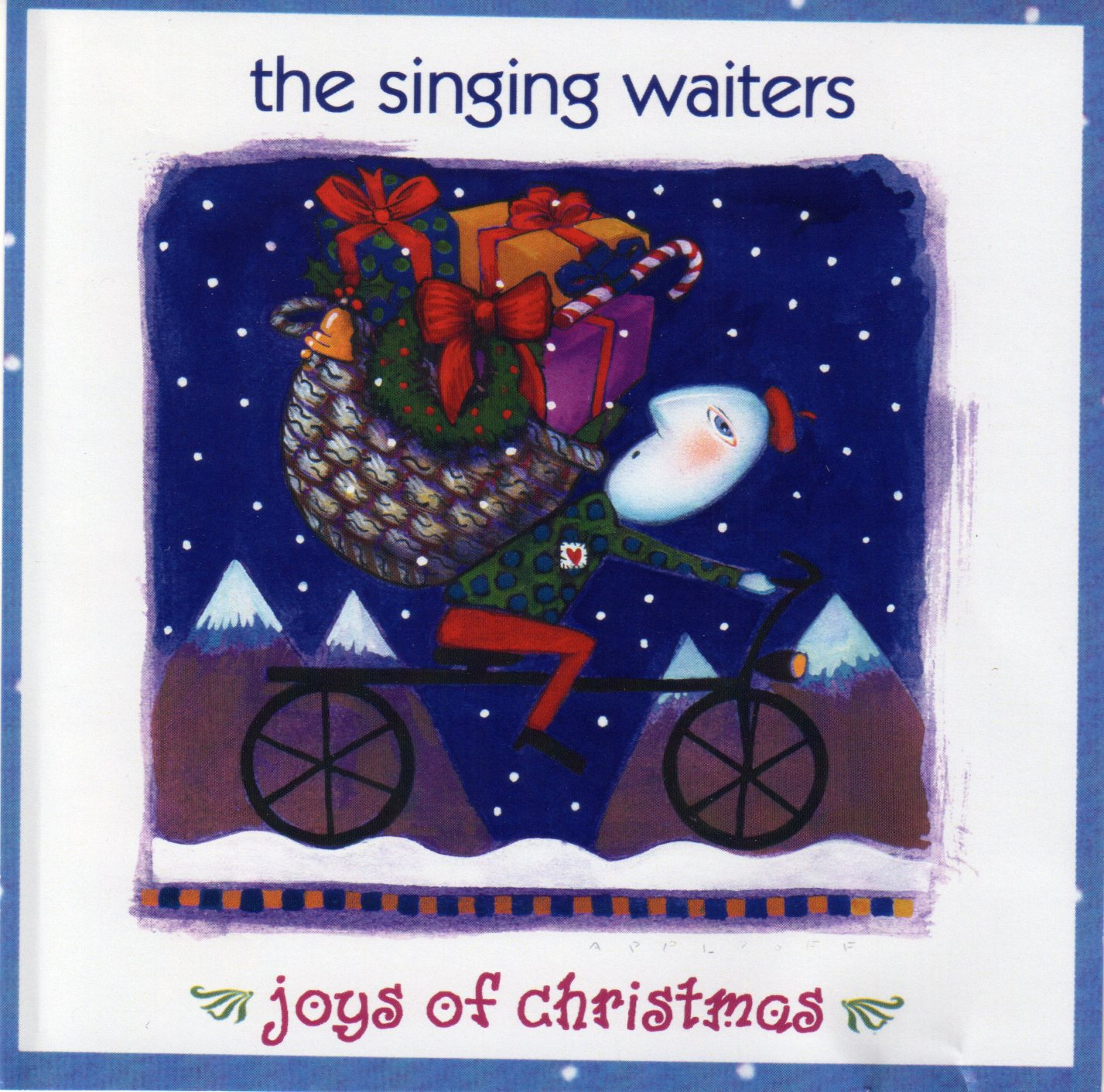 The Singing Waiters – Joys of Christmas